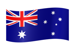 Flag waving xs australia