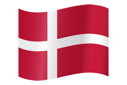 Flag waving xs denmark