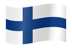 Flag waving xs finland