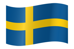 Flag waving xs sweden